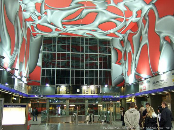 Центральный вокзал, Грац, Австрия