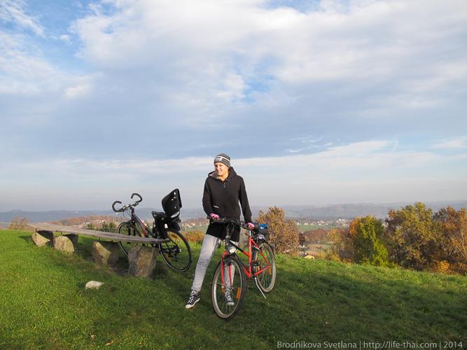Велопрогулка, Австрия, Штирия