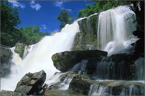 Khun Khan waterfall