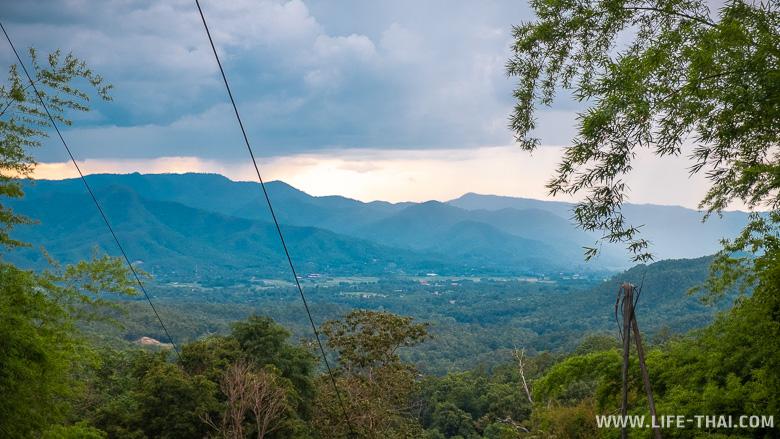 Вид с нац. парка Дой Кхун Тан
