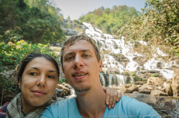 Мы около самого большого водопада в Таиланде