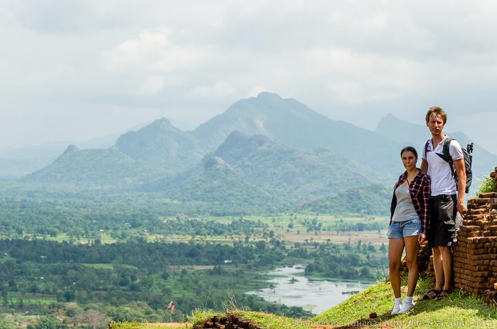 Мы на Львиной скале, Шри Ланка
