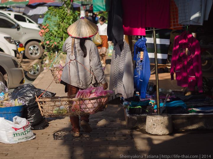 улицы Вьентьяна, Лаос