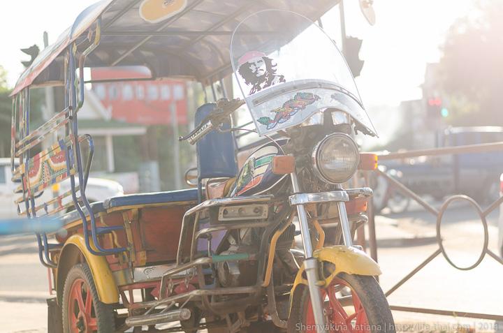 Тук-тук, Вьентьян, Лаос