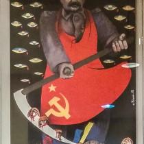 Сталин-палач, плакат