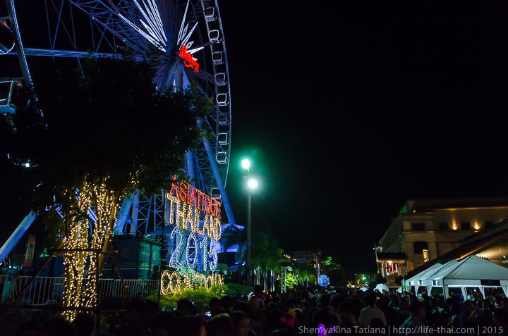Новый год, Бангкок, Таиланд