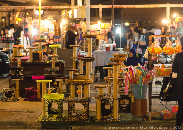 Кошкин дом, Родфаи маркет, Бангкок