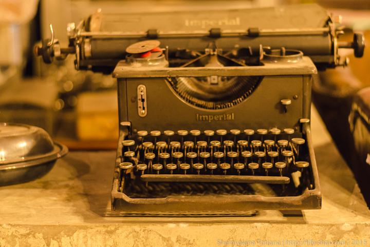 Печатная машинка, Антиквариат, Родфаи маркет, Бангкок