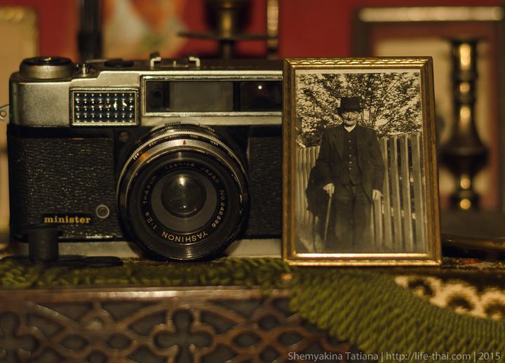 Старый фотоаппарат, Родфаи маркет, Бангкок