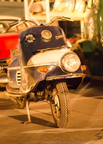 Мотороллер Vespa, Бангкок
