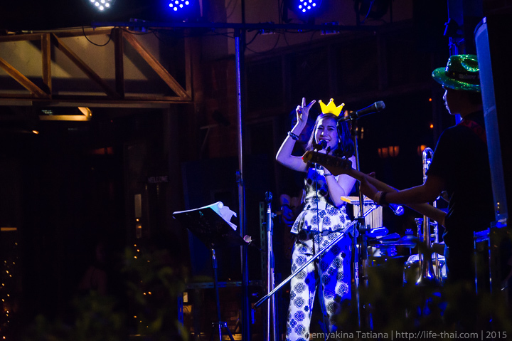Новогодний концерт, Бангкок, Таиланд