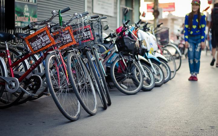 Велосипеды, Аюттайя, Таиланд