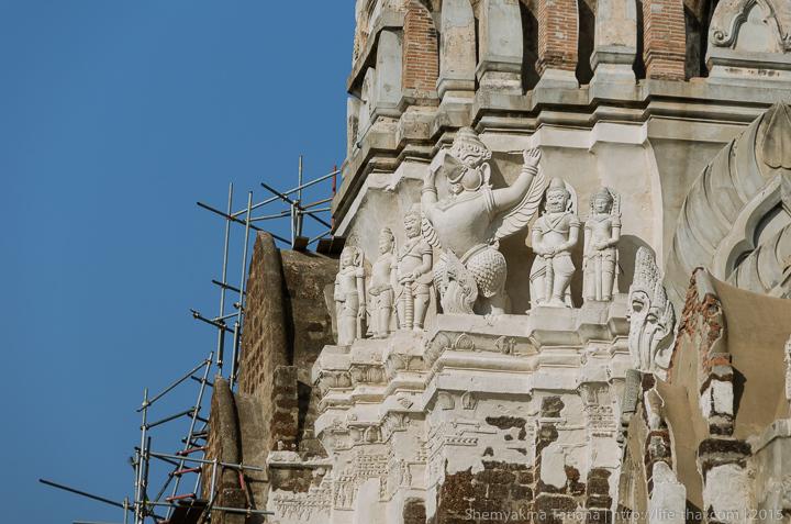 Пранг, Аюттайя, Таиланд