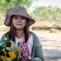 Девушка, Аюттайя, Таиланд
