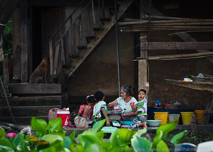 Люди, Аюттайя, Бангкок