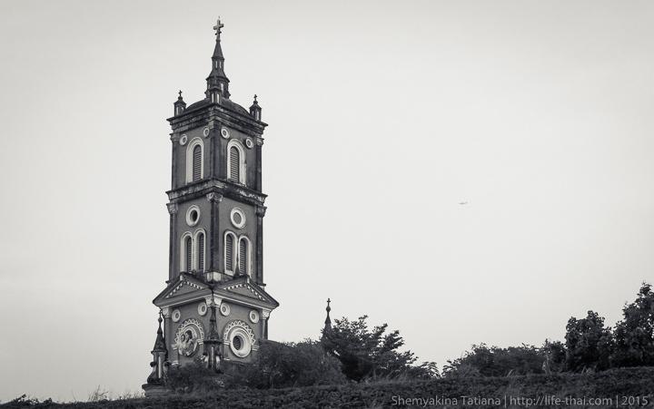 Католическая церковь, Аюттайя, Таиланд