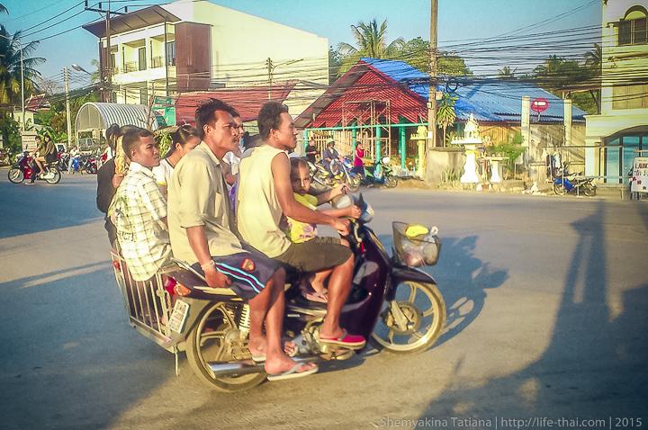 Байк, Таиланд