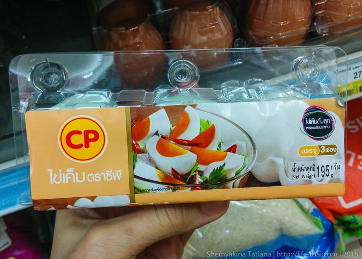 Гусиные яйца, Таиланд