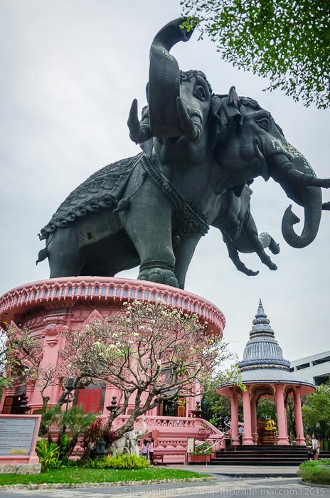 Erawan museum, Бангкок. Музей слона Эраван