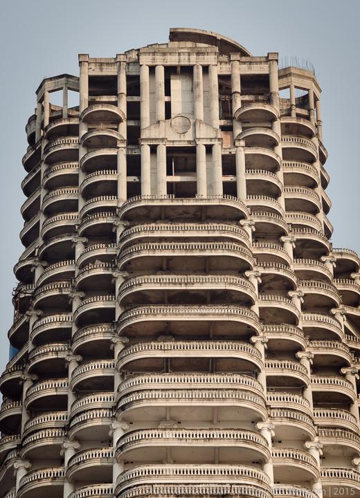 Заброшенный небоскрёб Sathorn Unique в Бангкоке