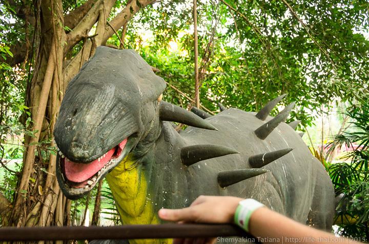 динозавры в Siam Park City отзывы