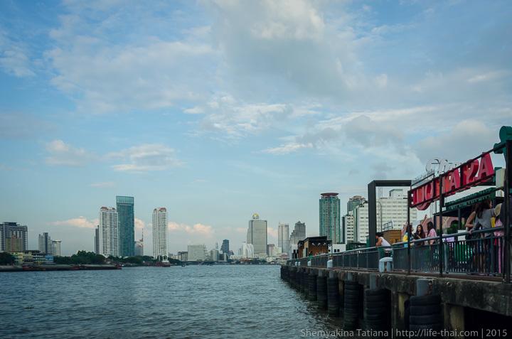 Река Чао Прайя, Бангкок