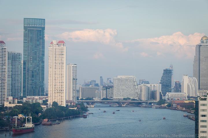 Бангкок и Чао Прайя, Таиланд