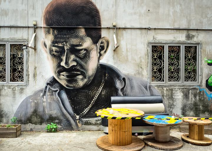 Граффити, Сингапур