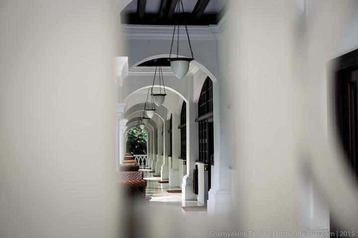 в отеле Раффлз, Сингапур