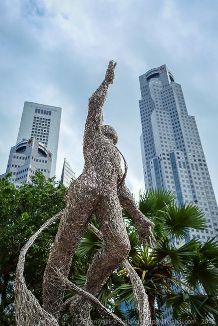 Сингапур, скульптура
