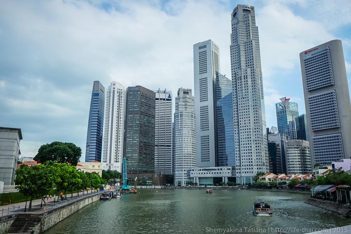 Сингапур, вид на город