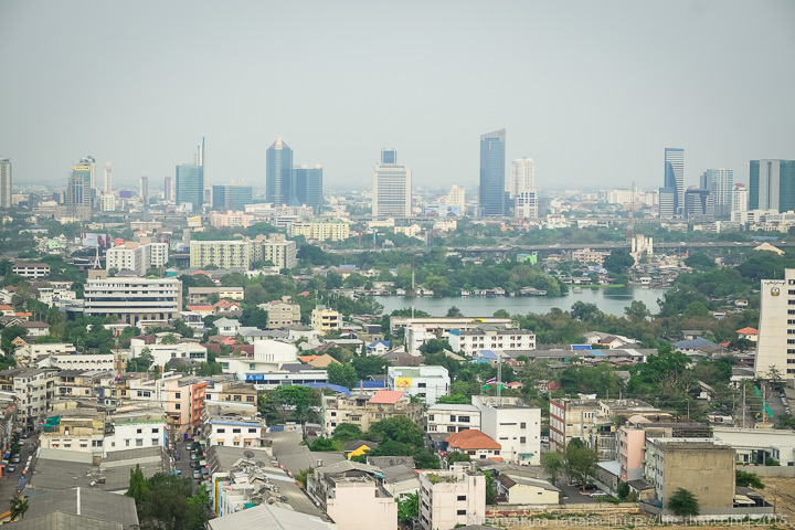 Вид из окна на 15-ом этаже