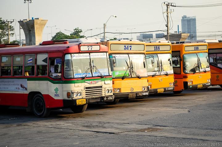 Автобусы, Бангкок, Таиланд