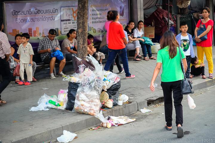 Свалка в Бангкоке