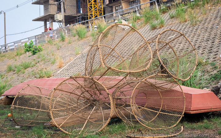 Снасти рыбаков, Вьентьян, Лаос