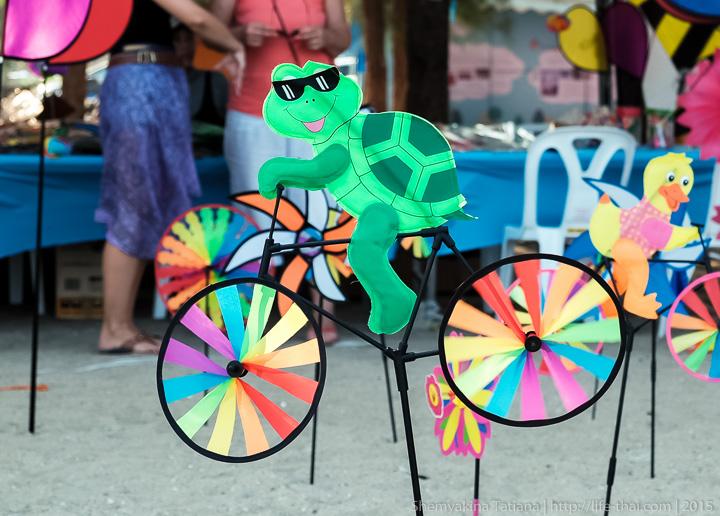 Черепаха-позитив, Ча-ам, Фестиваль воздушных змеев