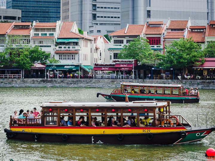 Сингапур, речные круизы