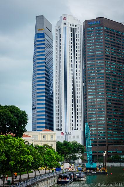 Сингапур, набережная