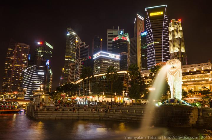 Мерлион, Сингапур