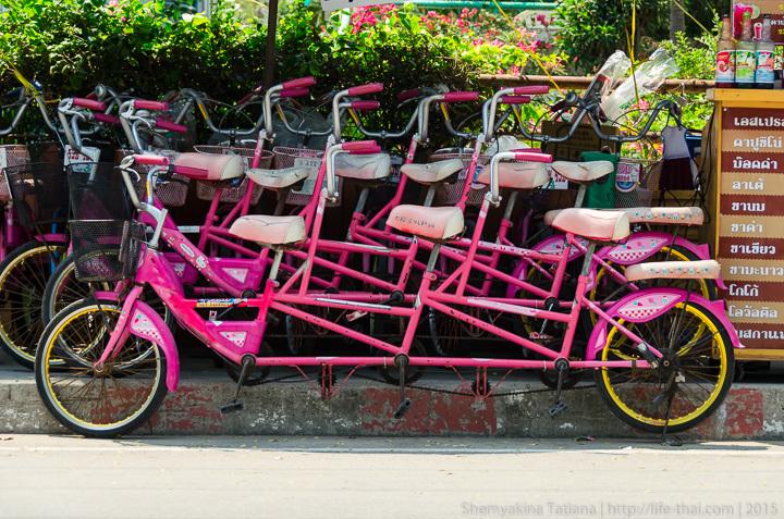 Ча-ам, велосипед, Таиланд