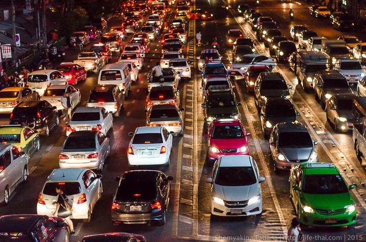 Дорожное движение, Бангкок