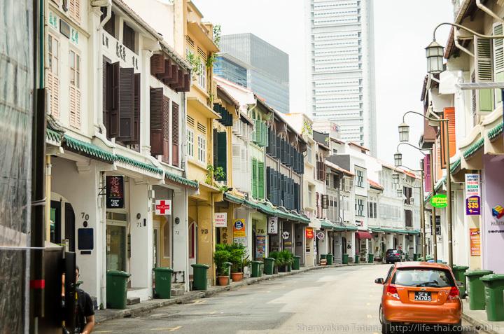 Улицы Чайнатауна, Сингапур