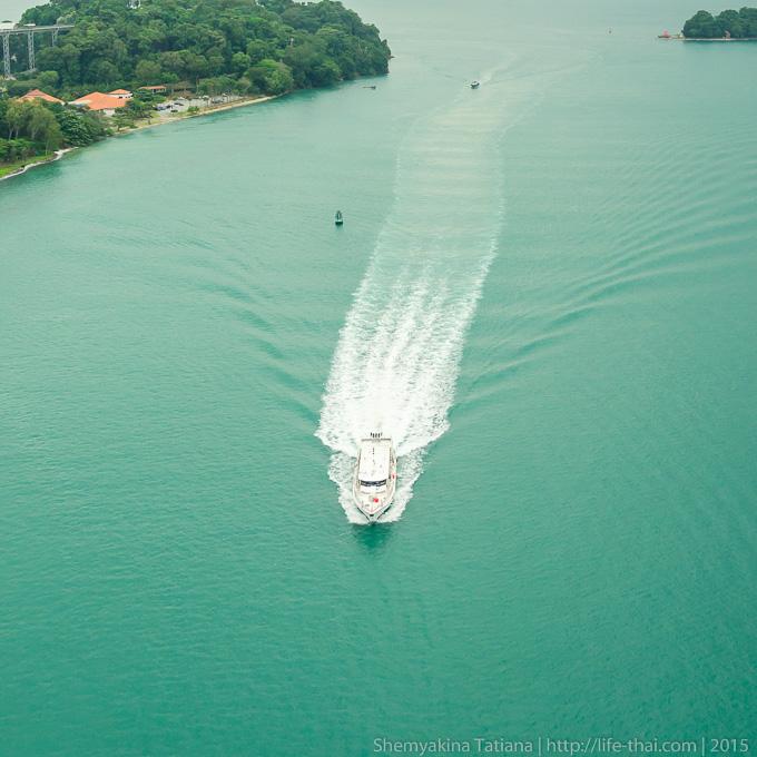 Белоснежные яхты, Сингапур