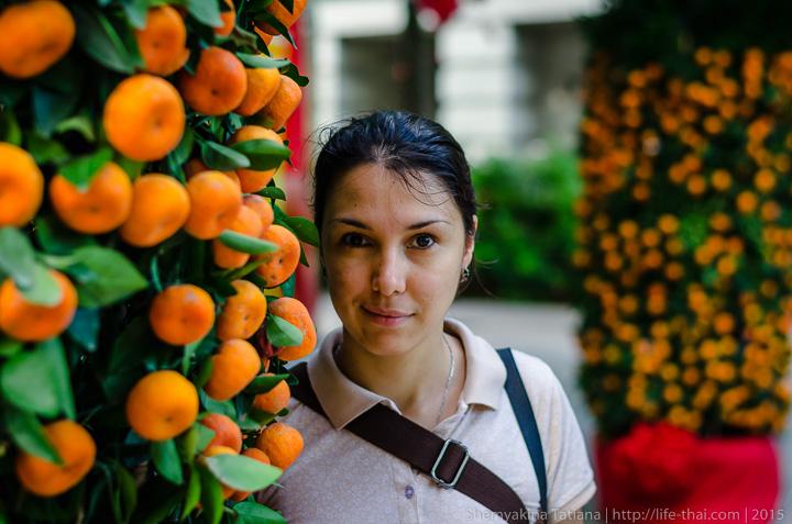 Мандариновые кусты и я, Сингапур