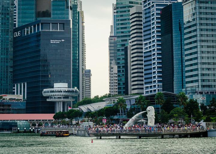 Мерлион, символ Сингапура