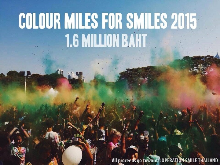 Colour Miles For Smiles, Бангкок, Таиланд