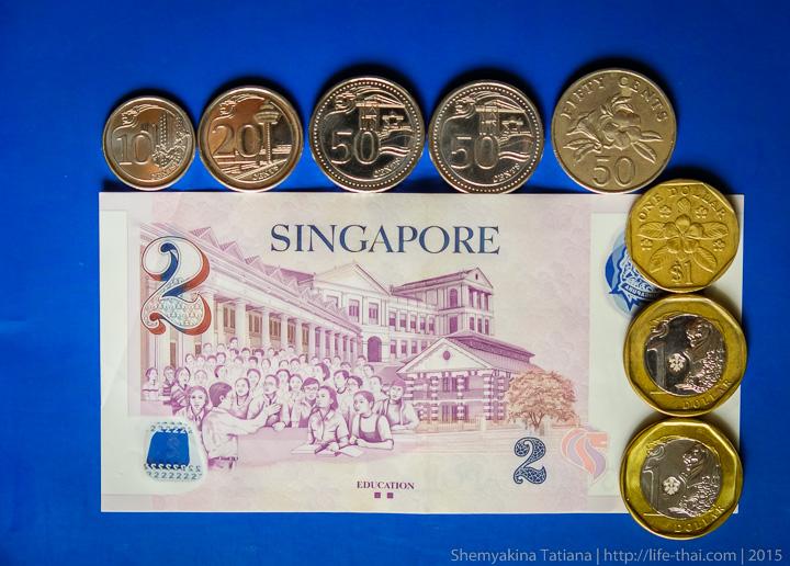 Сингапур, деньги