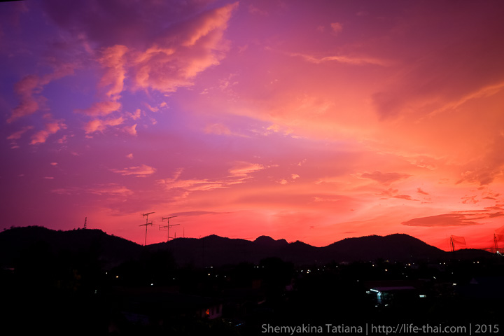 Закаты в Хуа Хине