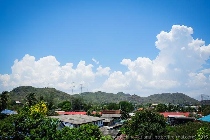 Облака. Небо в Хуа Хине