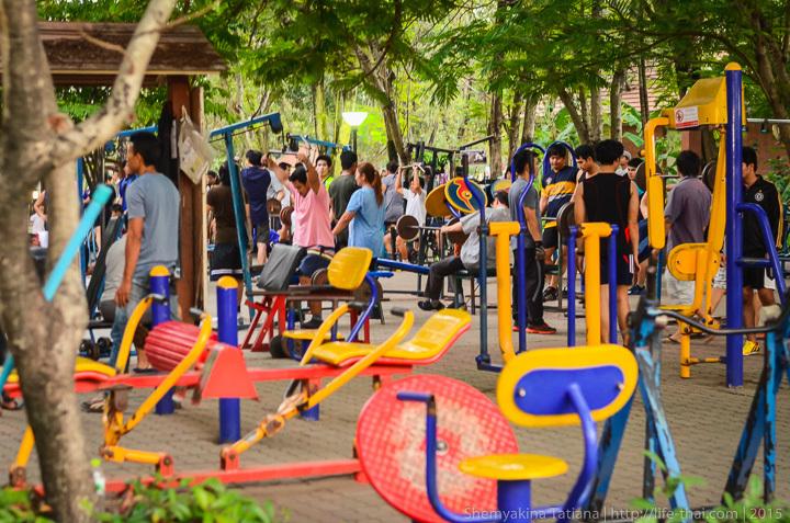 Парк Рама 9, Бангкок, Таиланд